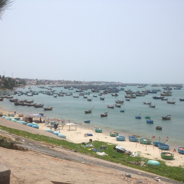 Fisherman's village in Mui Ne