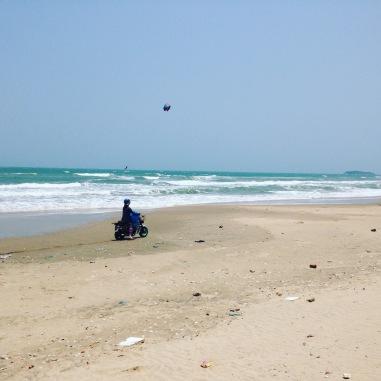 beach, full of trash