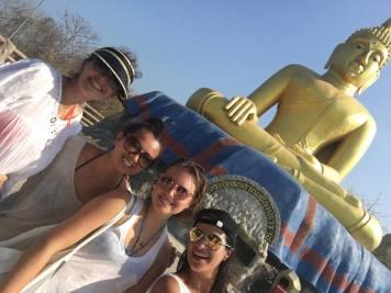 Selfie with Buddha