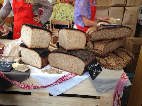 Breads at the german stand