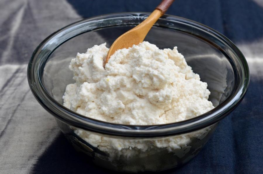 Creamy Almond Ricotta
