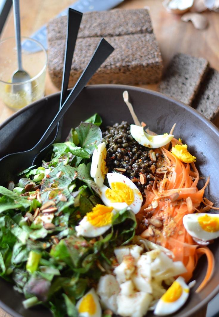 No-Food-Waste Salad